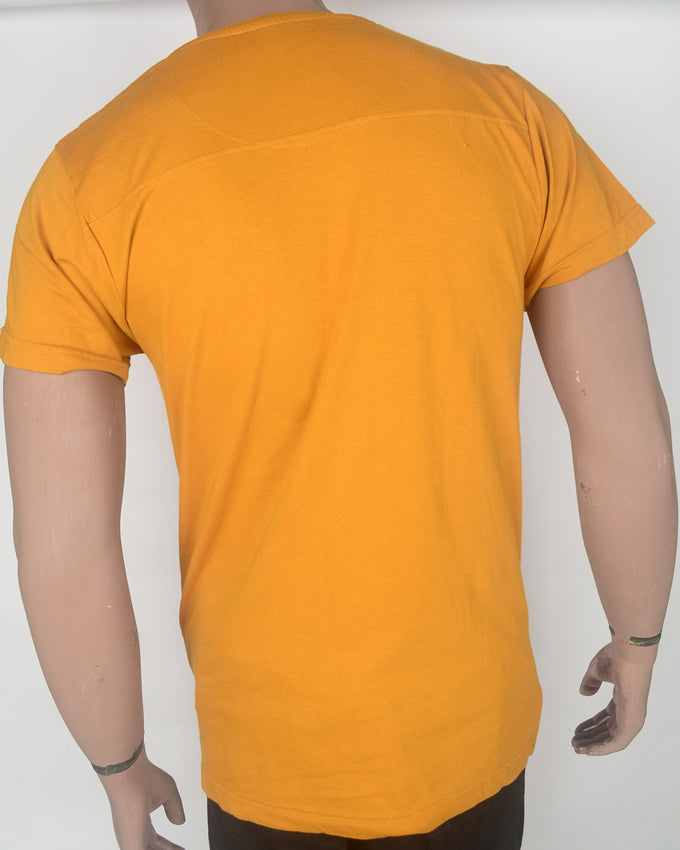 Moto Kickstart Yellow T-shirt - XL