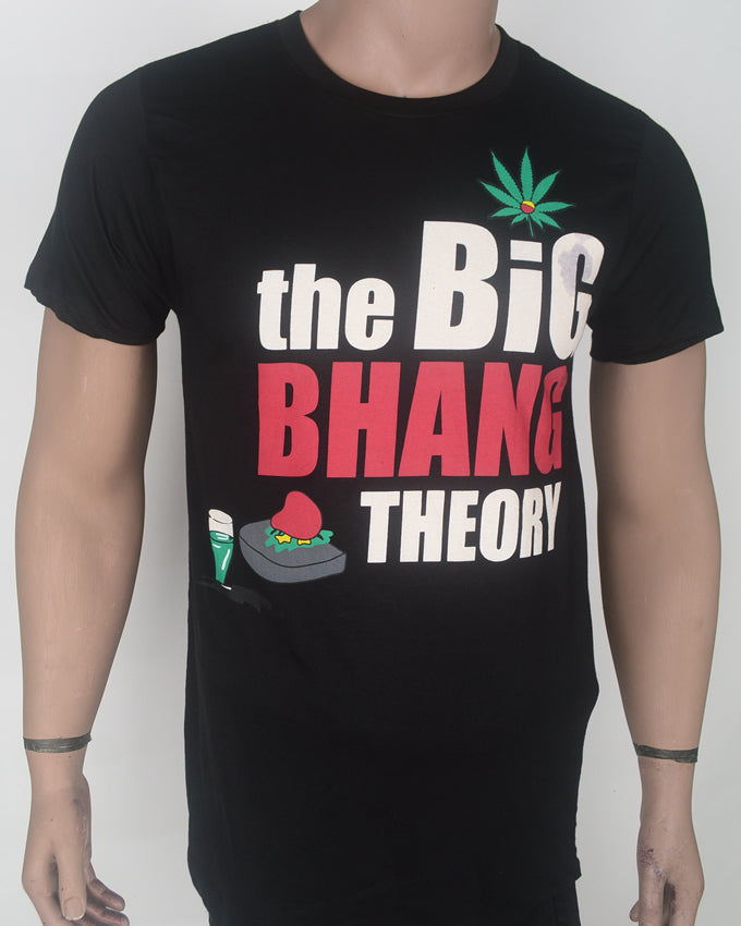 Big Bang Theory Black T-shirt - Large