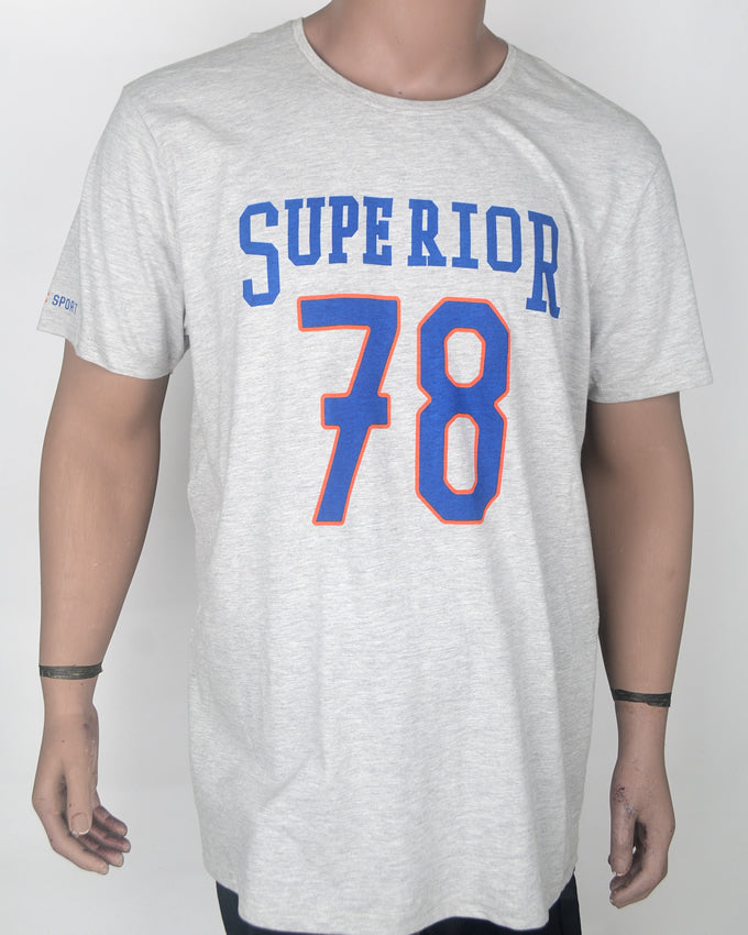 Superior Grey  78  T-shirt - XXL