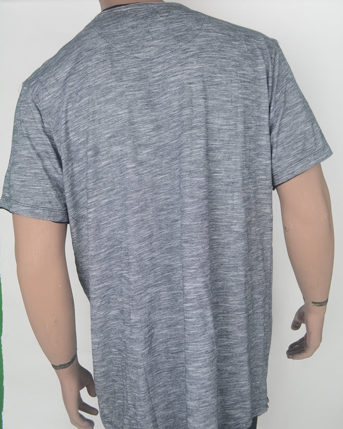 Plain Grey with Pocket - XXL