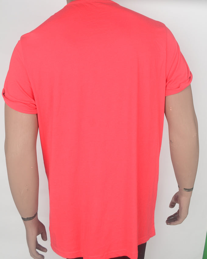 Hang in Suburbia Bright Red  - XXL