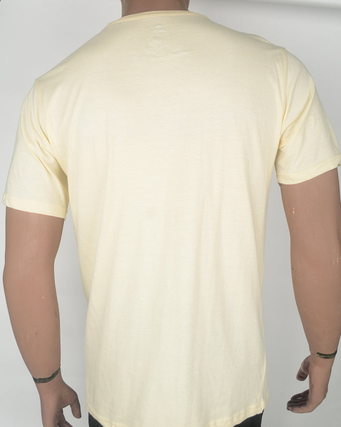 MMXIV Print Yellow T-shirt - XL