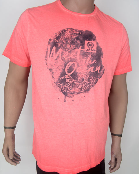 Meet the Ocean Pink T-shirt - XL
