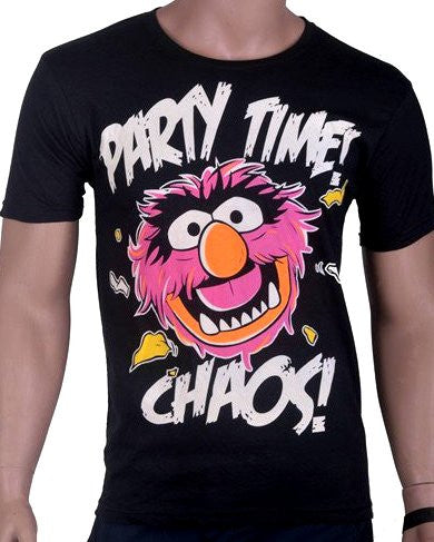 Party Time Chaos T-Shirt - Black - Medium