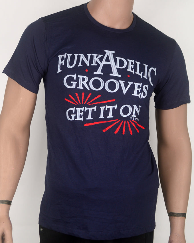 Funkadelic Grooves Blue T-shirt - Medium