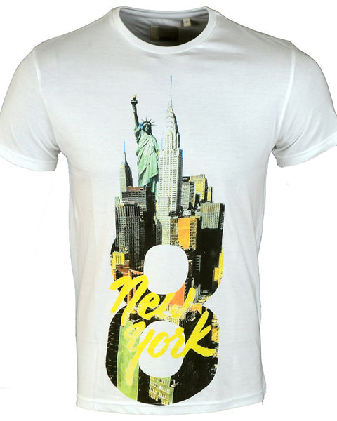 New York Print T-Shirt - Small