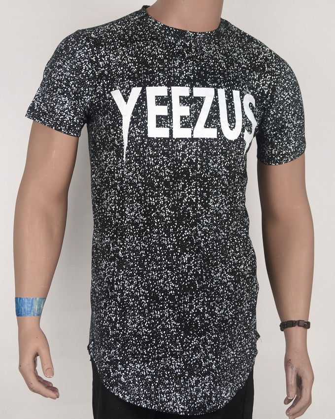 YEEZUS print T-Shirt Black - Large