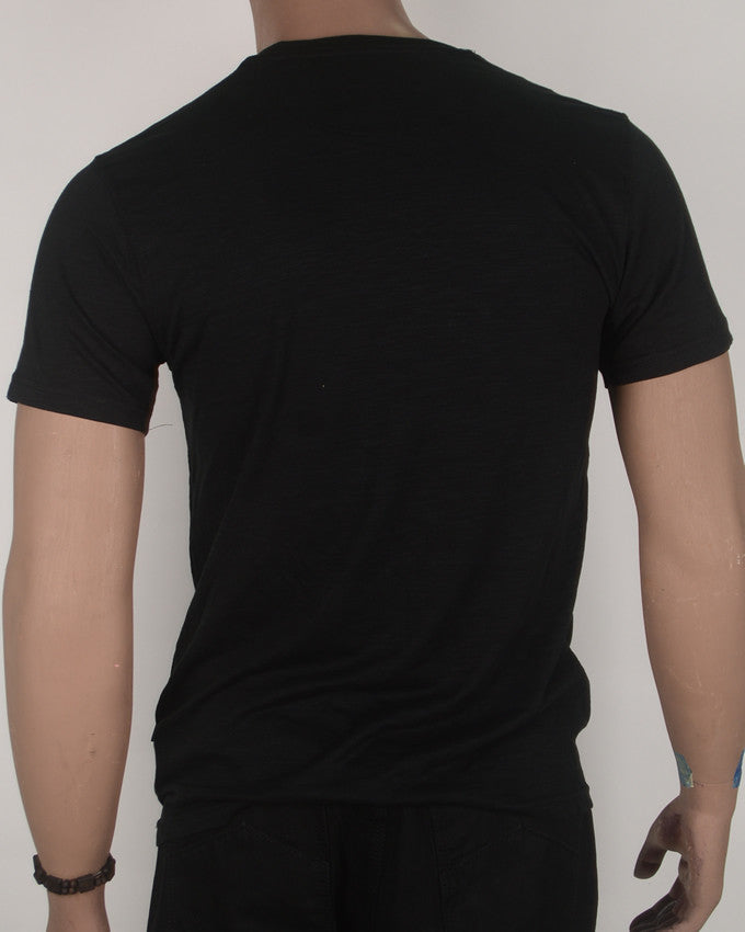 Pierre Cardin 1950 Black T-Shirt - Medium