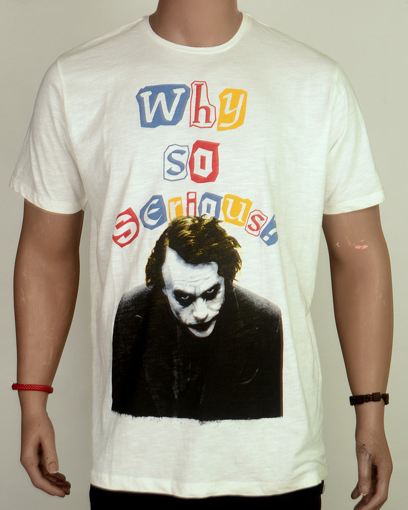 Why So Serious - T-shirt - XL