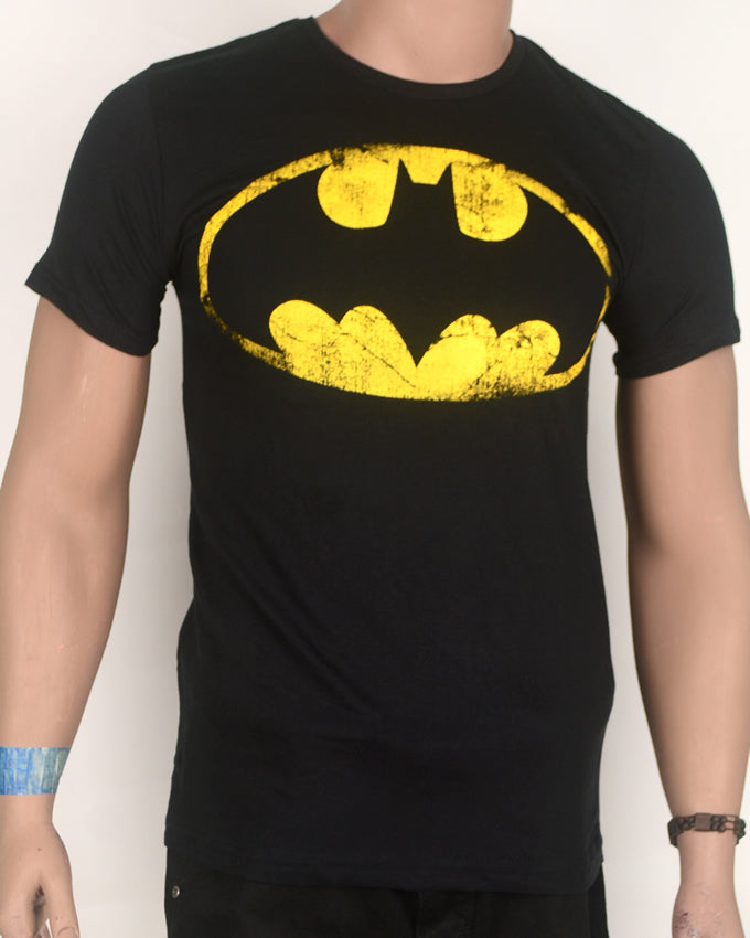 Bat Signal Black T-shirt - Small