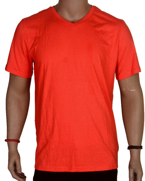 Plain Orange/Red - T-shirt - XL