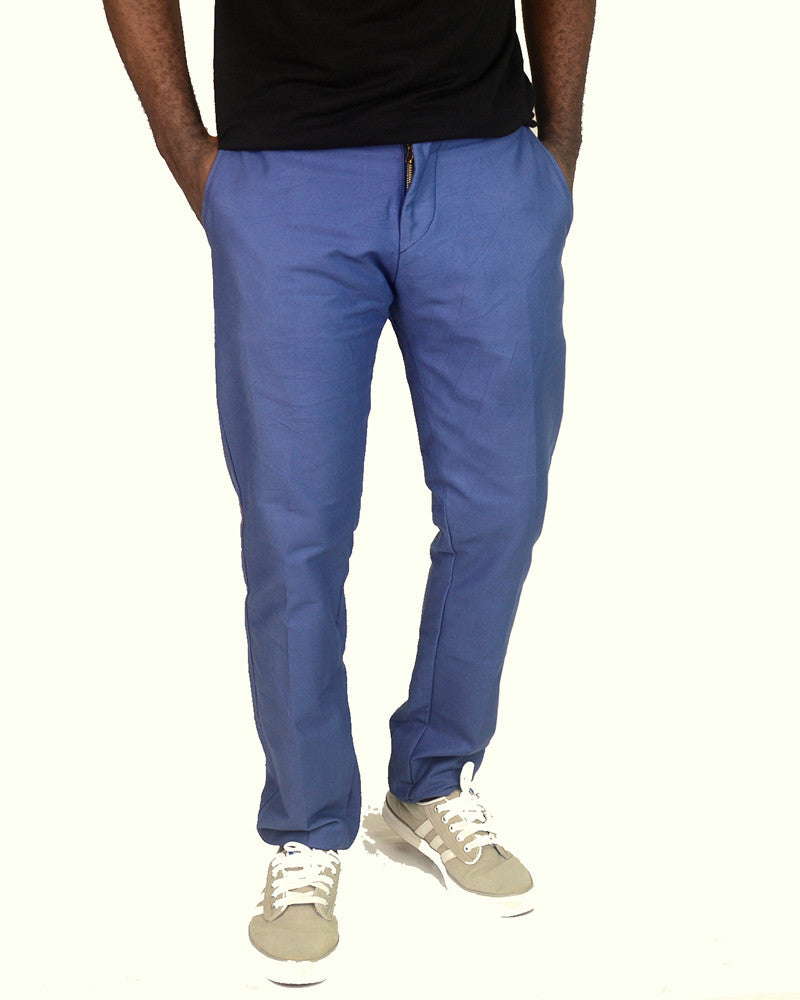 Plain Light Blue Pants