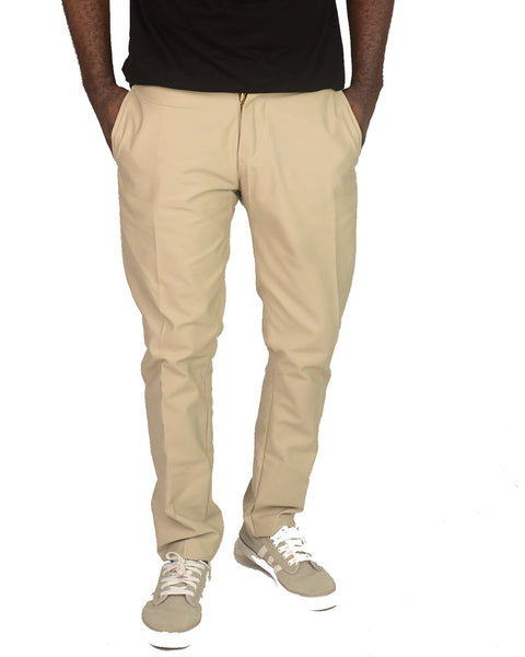 Plain Carton Light Pants
