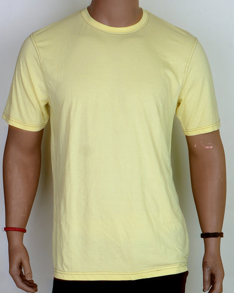 Plain Yellow - T-shirt - XL