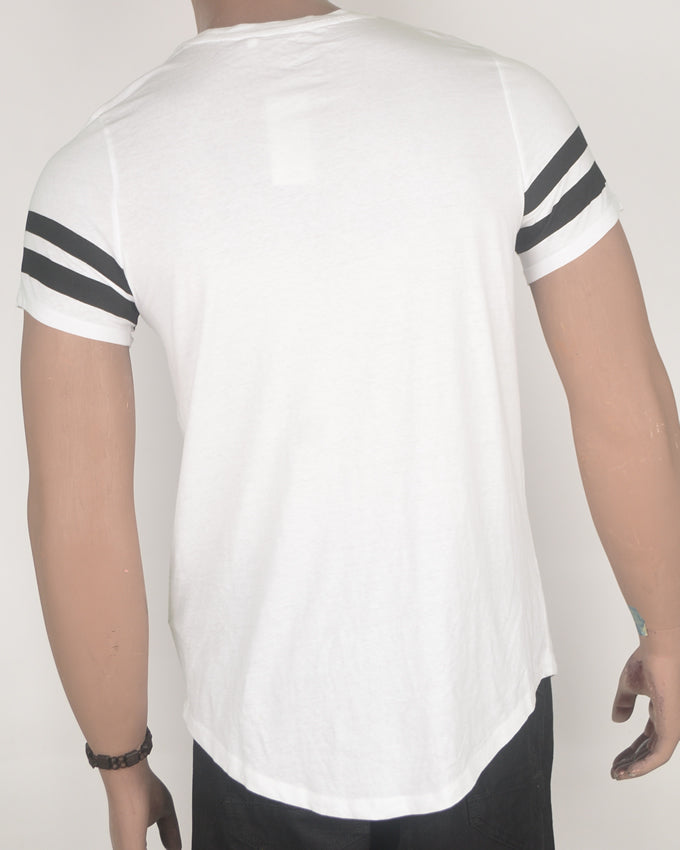 FSBN Long Fit White T-shirt - Small