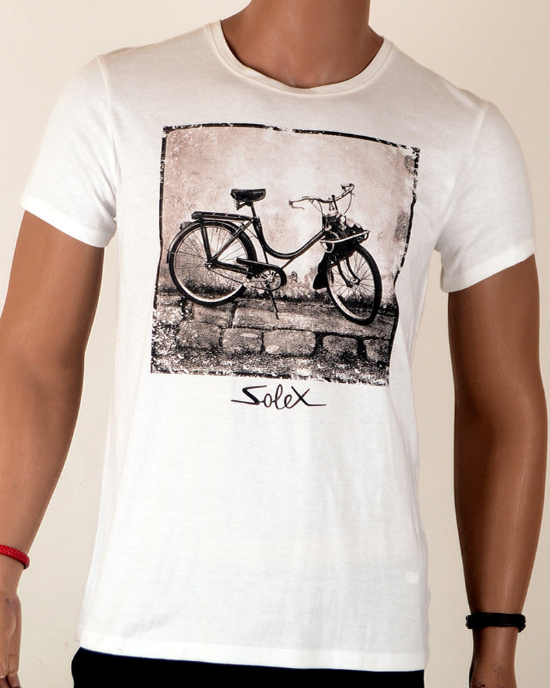 Solex Bicycle - T-Shirt - Large