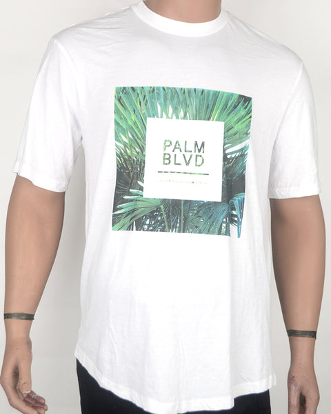 PALM BLVD White T-shirt - XL