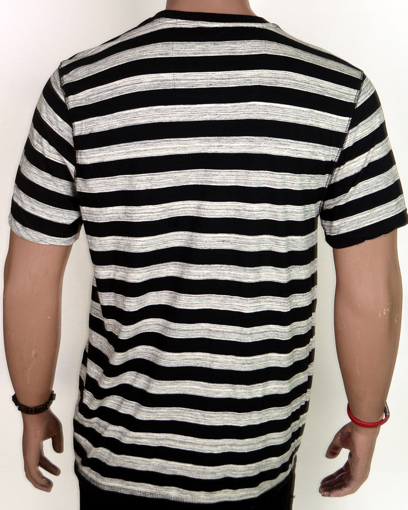 Grey With Black Stripes - XL