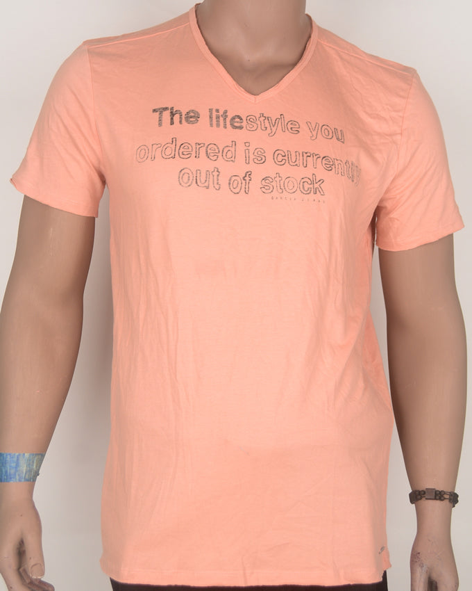 The Lifestyle You Ordered Orange T-Shirt - Large