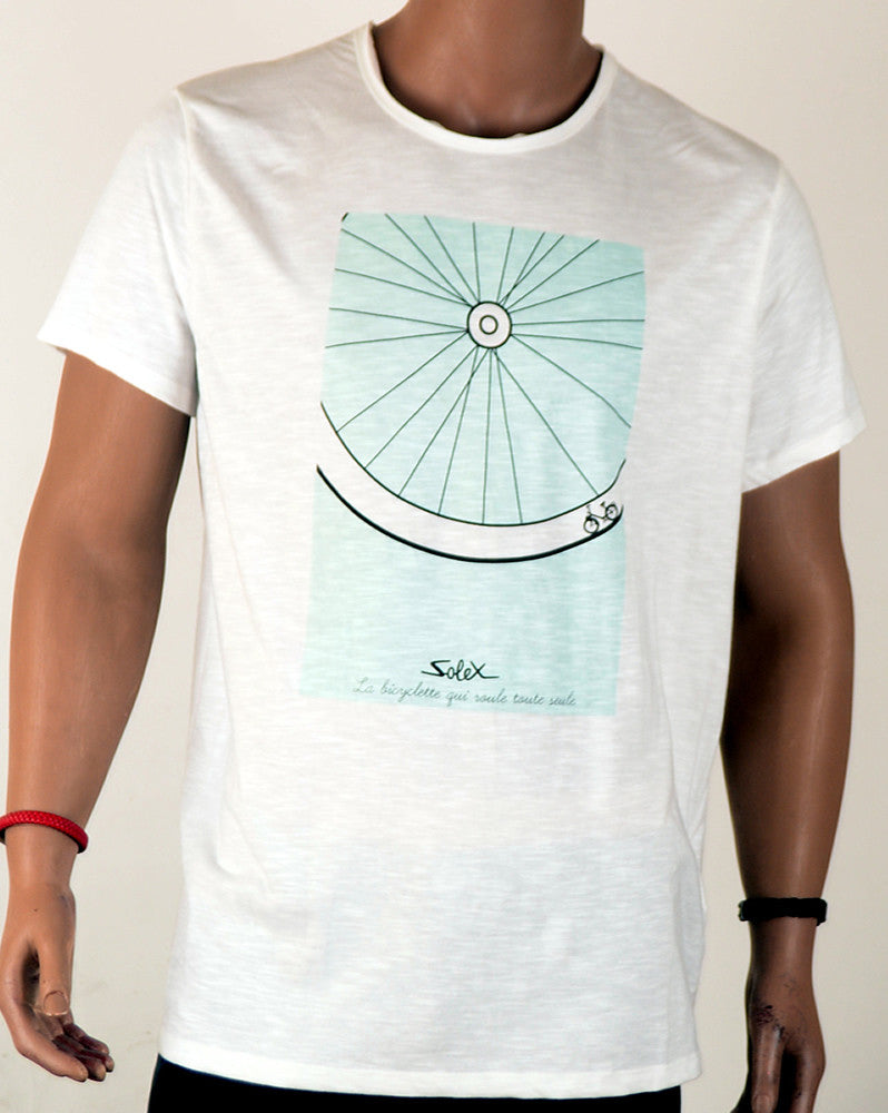 Solex Bicycle Wheel - T-Shirt - Large