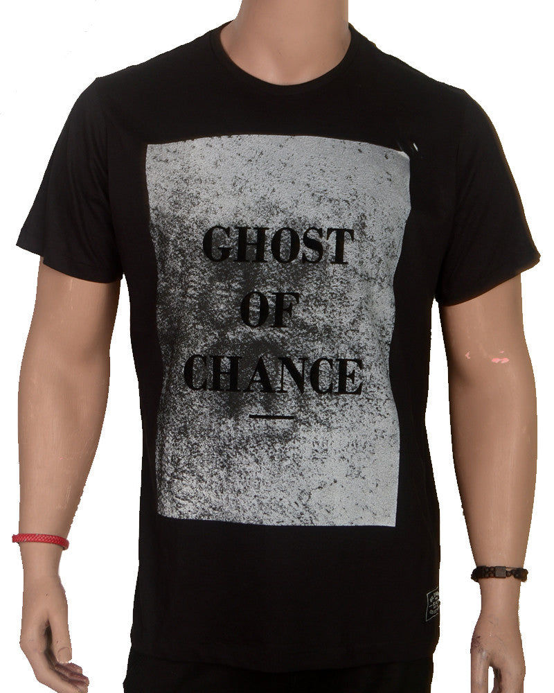 Ghost of Chance T-shirt - Black - XL