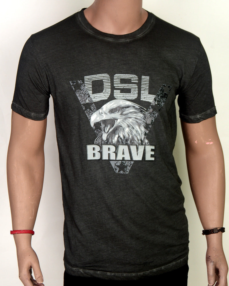 DSL Brave Eagle  - T-shirt - Grey - XL