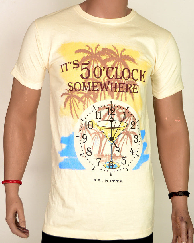 5 O'clock T-Shirt - Large