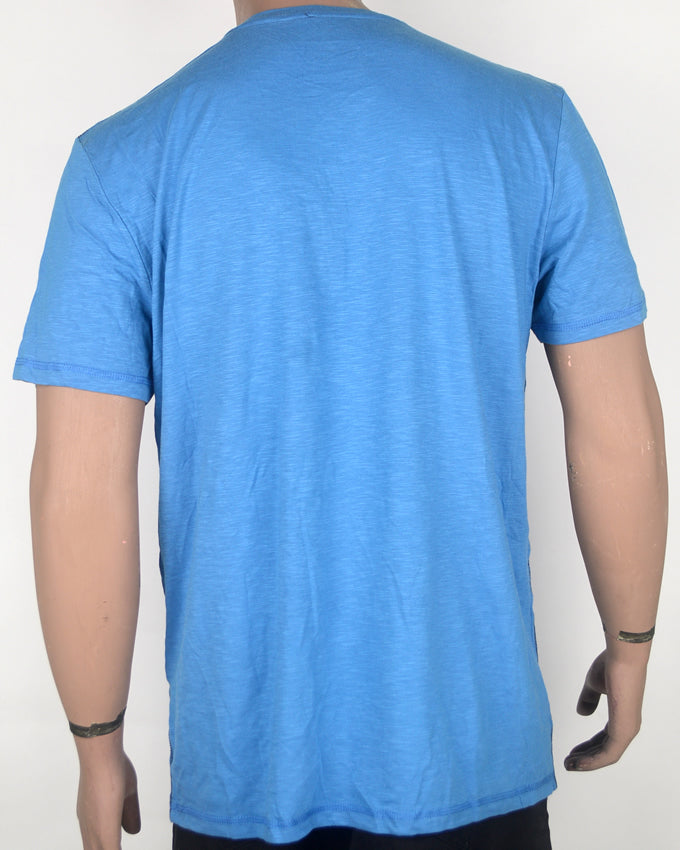 Tom Tailor Print Blue T-shirt - XL