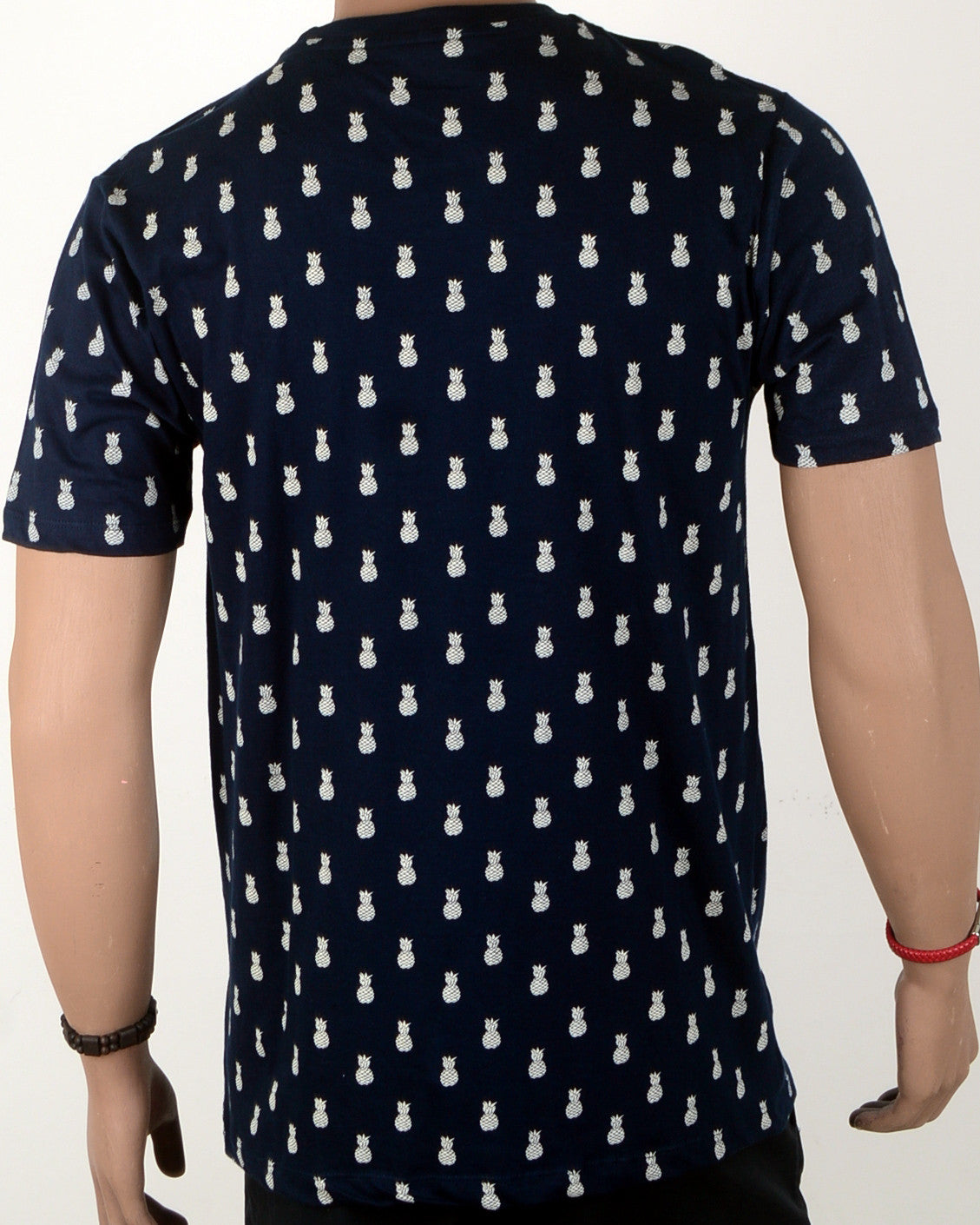 Pineapple Print T-shirt - XL