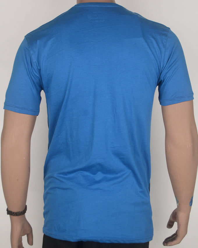 Tide and Time Blue T-shirt - Large