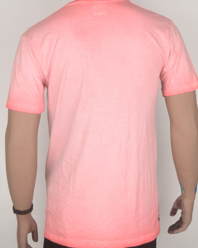 Malibu Pacific Pink T-shirt - Large