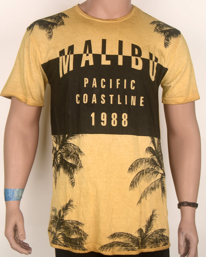 Malibu Pacific Light Brown T-shirt - Large