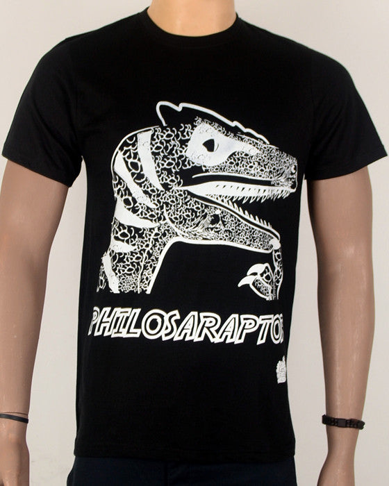 Philosoraptor - T-Shirt - Black - Medium
