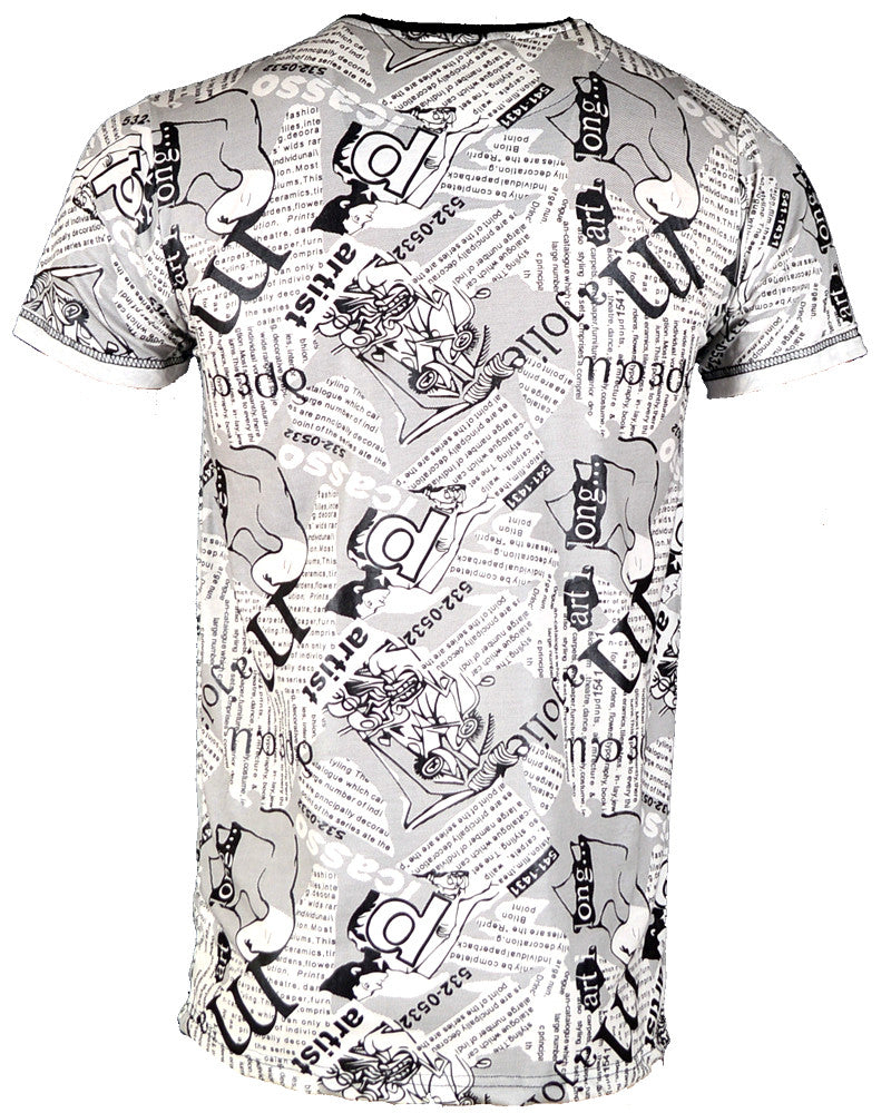 Majorlie Print - T-Shirt - Medium