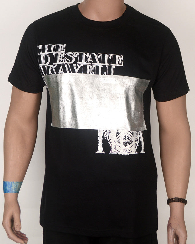 The Estate Makavelli Print T-shirt - XL