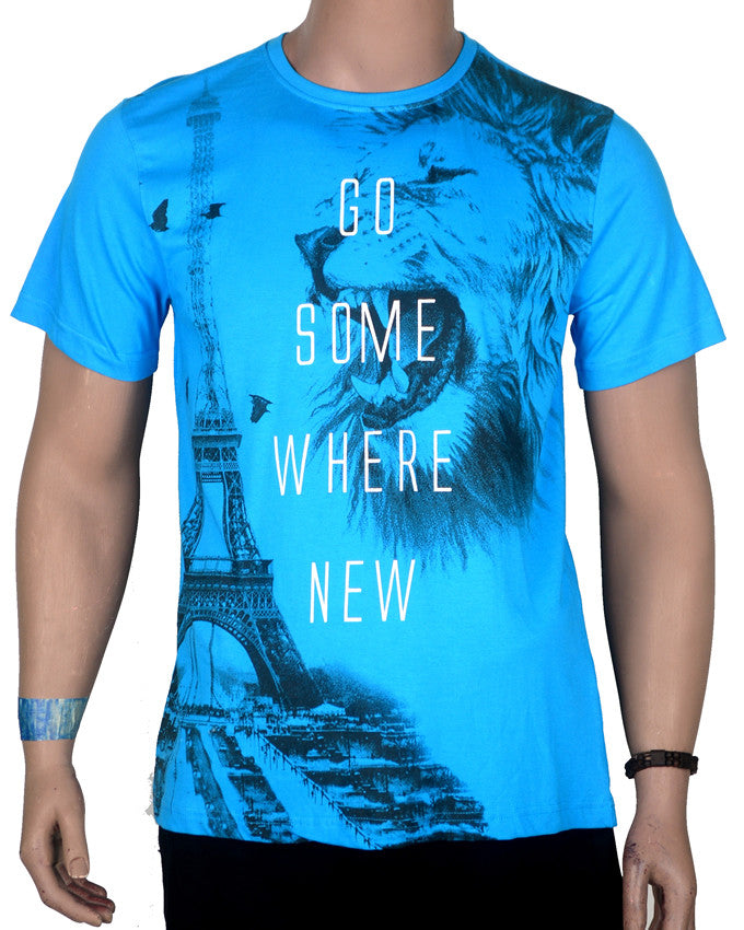Go Some Where New T-shirt - XL