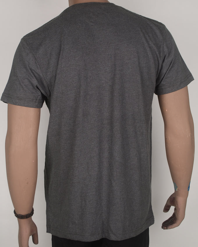 Fresh Admiral Print Grey T-shirt - Large