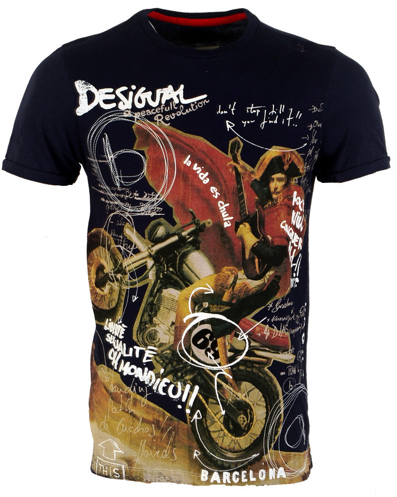 Desigual Multicolor - T-Shirt - Medium