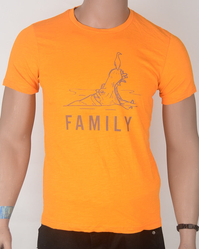Orange Family - T-shirt - Small