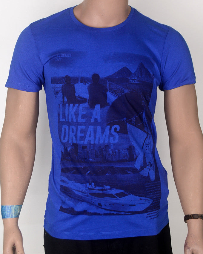 Like a Dream Blue T-shirt - Medium