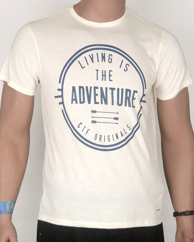 Living is Adventure T-shirt - Medium