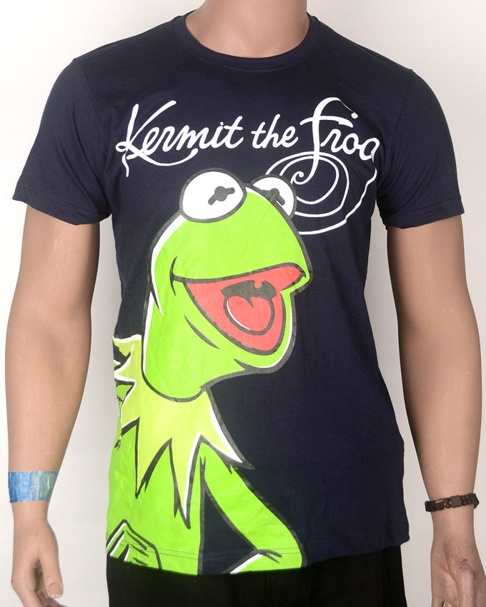 Kermit The Frog Print T-shirt - Medium