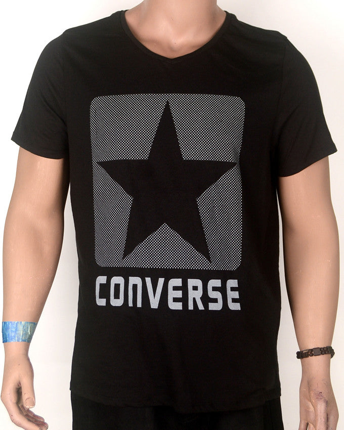 Converse Black - T-Shirt - Large