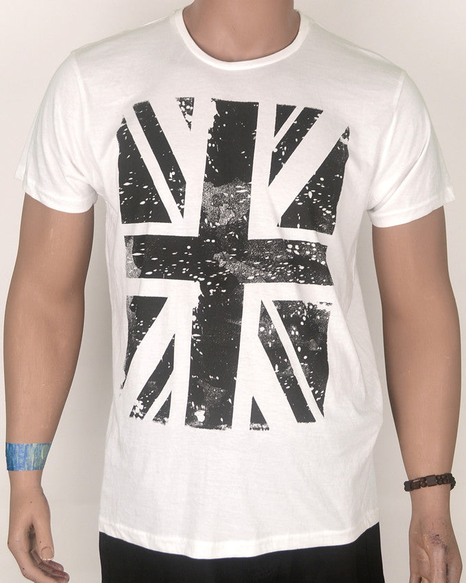 Union Jack White T-Shirt - Large