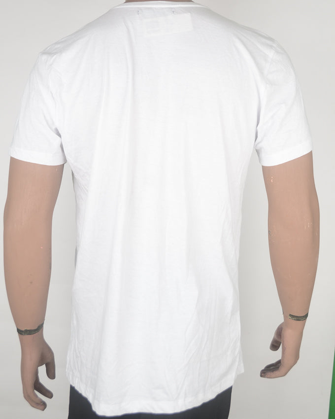 LND PARIS MILAN Print White T-shirt - XL