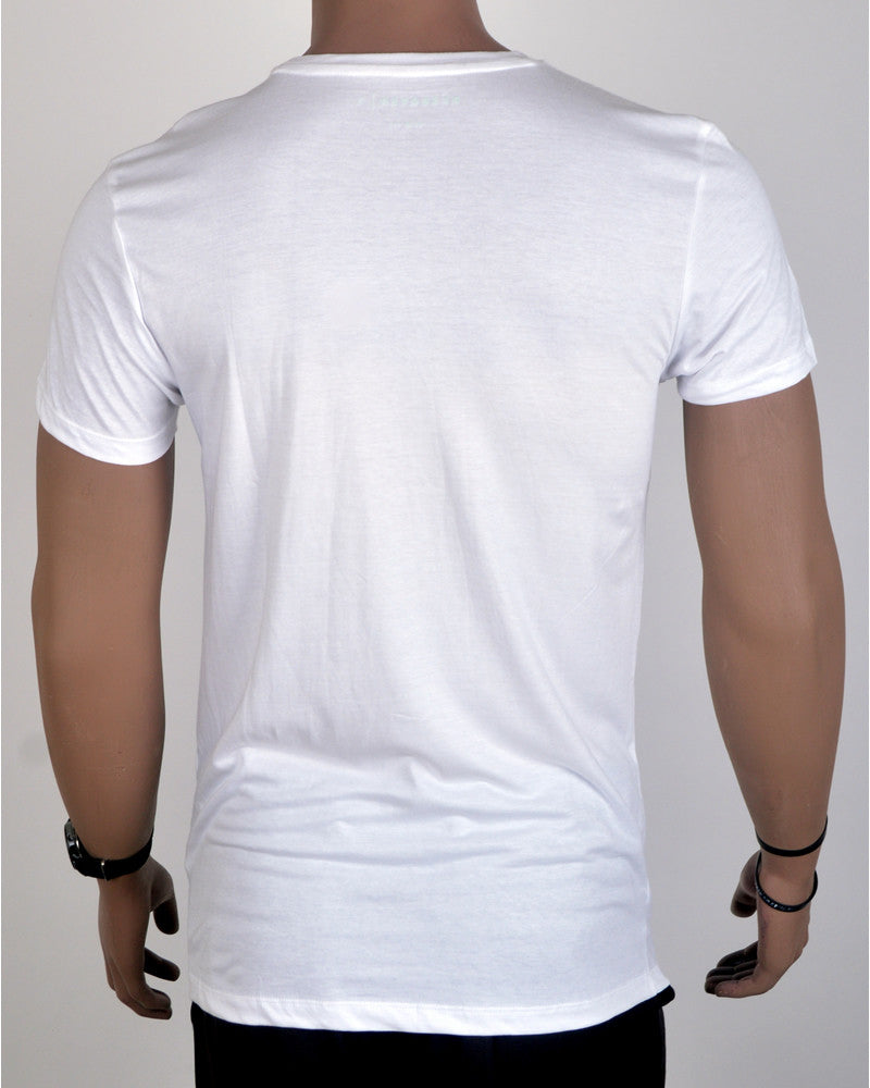 Killing It Print T-Shirt - White - Small