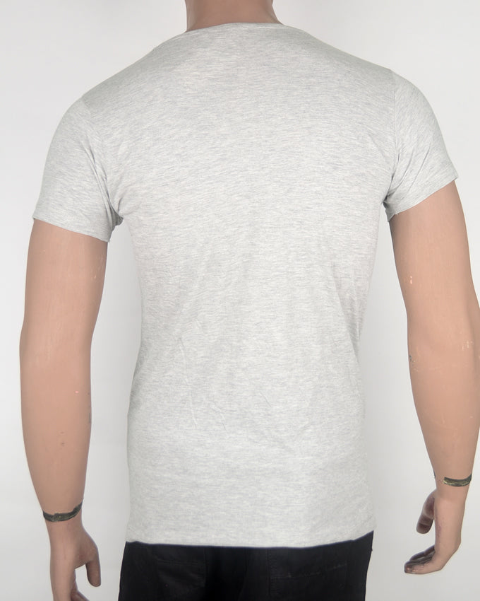 Catch The Wave  Grey T-shirt - Small