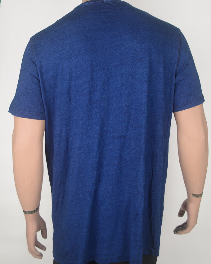 Selvedge Society Blue T-shirt - XXL