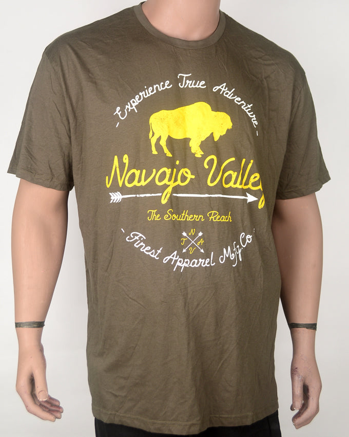 Navago Valley Brown T-shirt - XXL