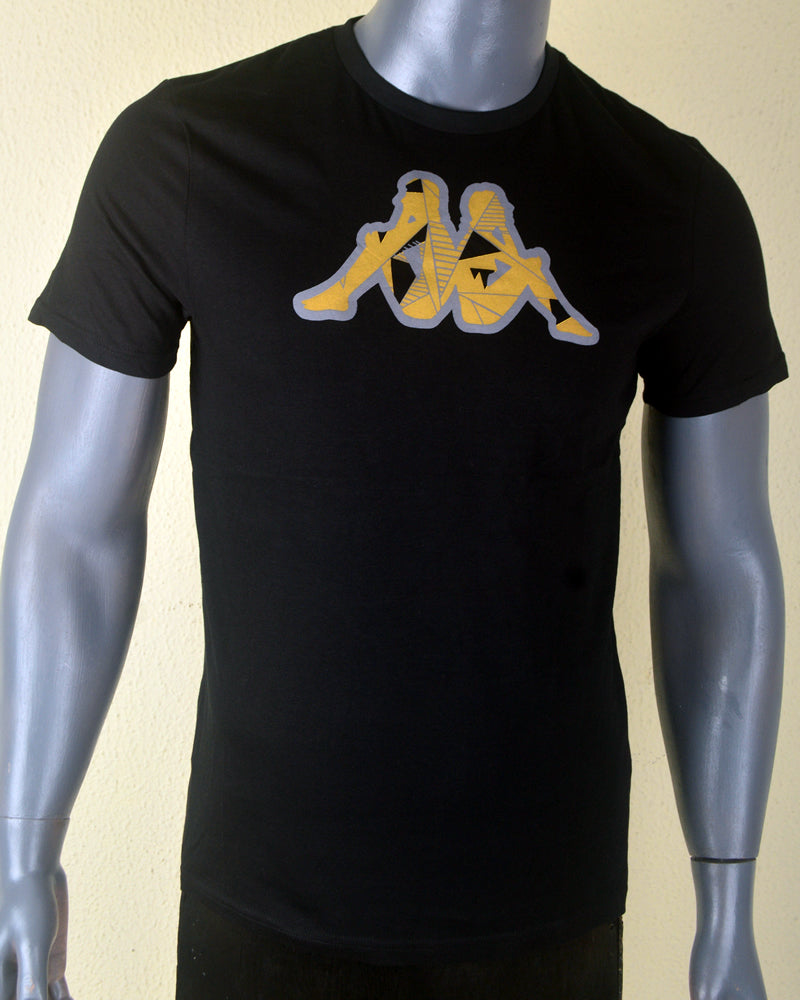 Kappa Print  Black - Medium